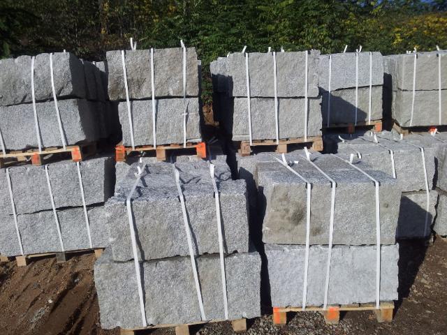granit mauersteine - grau 40/40/60-140 - interbruk s.c., Garten und Bauen